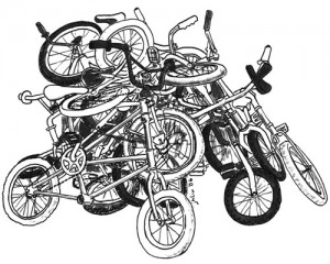 Cleaning out your garage? We need your bike donations!!